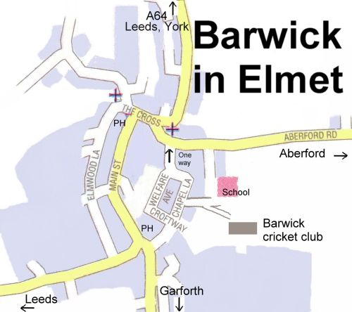map of Barwick